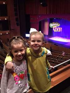 Bradley attended Shopkins Live! on Jan 27th 2018 via VetTix