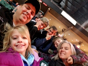 Toney attended Motorcyles on Ice - Xtreme International Ice Racing on Jan 27th 2018 via VetTix