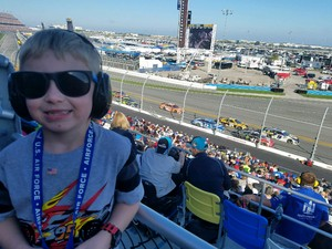 Paul attended Daytona 500 - the Great American Race - Monster Energy NASCAR Cup Series on Feb 18th 2018 via VetTix