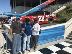 Ramon attended Daytona 500 - the Great American Race - Monster Energy NASCAR Cup Series on Feb 18th 2018 via VetTix