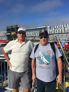 Ronald attended Daytona 500 - the Great American Race - Monster Energy NASCAR Cup Series on Feb 18th 2018 via VetTix