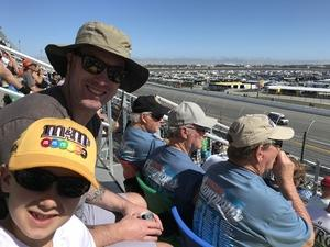 Jason attended Daytona 500 - the Great American Race - Monster Energy NASCAR Cup Series on Feb 18th 2018 via VetTix