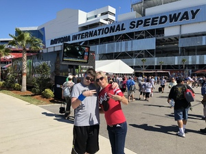Troy attended Daytona 500 - the Great American Race - Monster Energy NASCAR Cup Series on Feb 18th 2018 via VetTix