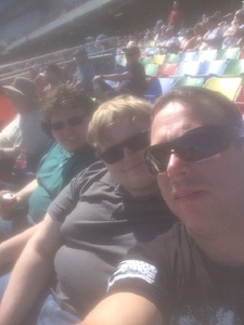 John attended Daytona 500 - the Great American Race - Monster Energy NASCAR Cup Series on Feb 18th 2018 via VetTix