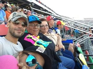 Emilio attended Daytona 500 - the Great American Race - Monster Energy NASCAR Cup Series on Feb 18th 2018 via VetTix