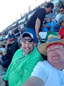 Mark attended Daytona 500 - the Great American Race - Monster Energy NASCAR Cup Series on Feb 18th 2018 via VetTix