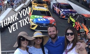 Jessie attended Daytona 500 - the Great American Race - Monster Energy NASCAR Cup Series on Feb 18th 2018 via VetTix