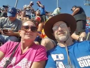 Patrick attended Daytona 500 - the Great American Race - Monster Energy NASCAR Cup Series on Feb 18th 2018 via VetTix