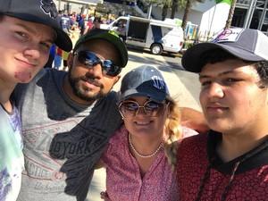 Michael attended Daytona 500 - the Great American Race - Monster Energy NASCAR Cup Series on Feb 18th 2018 via VetTix