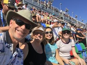 John attended Daytona 500 - the Great American Race - Monster Energy NASCAR Cup Series on Feb 18th 2018 via VetTix