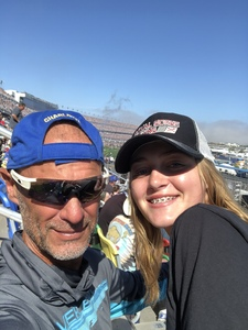Kris attended Daytona 500 - the Great American Race - Monster Energy NASCAR Cup Series on Feb 18th 2018 via VetTix