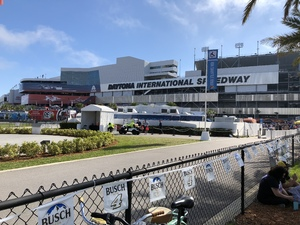 Matthew attended Daytona 500 - the Great American Race - Monster Energy NASCAR Cup Series on Feb 18th 2018 via VetTix