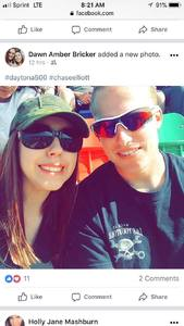 Dawn attended Daytona 500 - the Great American Race - Monster Energy NASCAR Cup Series on Feb 18th 2018 via VetTix