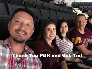 Kevin attended PBR - 25th Anniversary - Unleash the Beast - Tickets Good for Sunday Only. on Jan 28th 2018 via VetTix