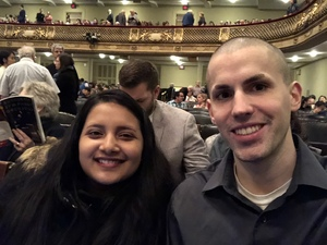 Richard attended Debussy and Ravel Featuring Jean -yves Thibaudet and the Tanglewood Festival Chorus - Presented by the Boston Symphony Orchestra on Feb 17th 2018 via VetTix