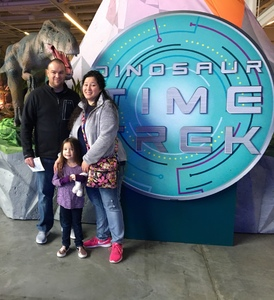 Russell attended Discover the Dinosaurs - Time Trek - Presented by Vstar Entertainment on Feb 18th 2018 via VetTix