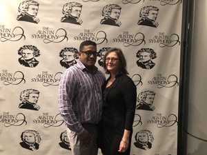 Raul attended Triumph Over Fate - Presented by the Austin Symphony on Feb 24th 2018 via VetTix