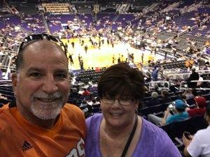 Kyle attended Phoenix Suns vs. Charlotte Hornets - NBA on Feb 4th 2018 via VetTix