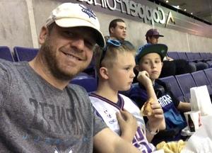 Edgar attended Phoenix Suns vs. Charlotte Hornets - NBA on Feb 4th 2018 via VetTix