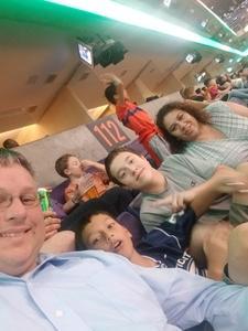 Paul attended Phoenix Suns vs. Charlotte Hornets - NBA on Feb 4th 2018 via VetTix