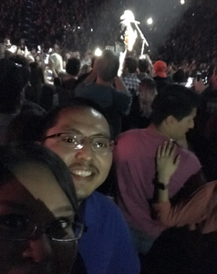 Arsenio attended Brad Paisley - Weekend Warrior World Tour With Dustin Lynch, Chase Bryant and Lindsay Ell on Jan 27th 2018 via VetTix