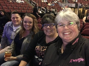 Kelly attended Brad Paisley - Weekend Warrior World Tour With Dustin Lynch, Chase Bryant and Lindsay Ell on Jan 27th 2018 via VetTix
