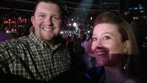 Bryan attended Brad Paisley - Weekend Warrior World Tour With Dustin Lynch, Chase Bryant and Lindsay Ell on Jan 27th 2018 via VetTix