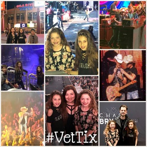 Gleim Family attended Brad Paisley - Weekend Warrior World Tour With Dustin Lynch, Chase Bryant and Lindsay Ell on Jan 27th 2018 via VetTix