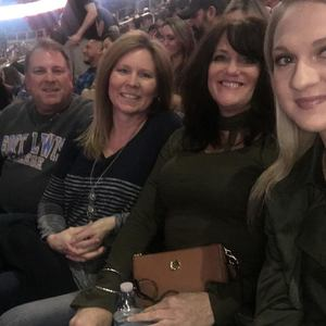 Patrick attended Brad Paisley - Weekend Warrior World Tour With Dustin Lynch, Chase Bryant and Lindsay Ell on Jan 27th 2018 via VetTix