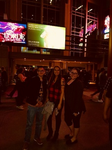 Rosalinda attended Brad Paisley - Weekend Warrior World Tour With Dustin Lynch, Chase Bryant and Lindsay Ell on Jan 27th 2018 via VetTix