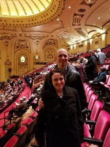David attended Carmina Burana - Presented by the Saint Louis Symphony Orchestra on Feb 9th 2018 via VetTix