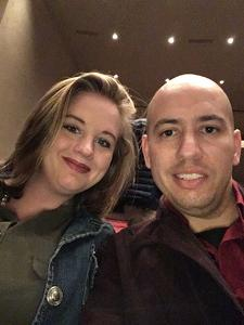 Eric attended Bolero, Bernstein and Barber - Presented by the Wichita Symphony on Feb 18th 2018 via VetTix