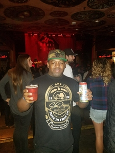 Make A Move Mike attended Local Brews Local Grooves at House of Blues San Diego on Feb 18th 2018 via VetTix
