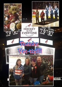 Ryan attended Arizona Coyotes vs. Dallas Stars - NHL on Feb 1st 2018 via VetTix