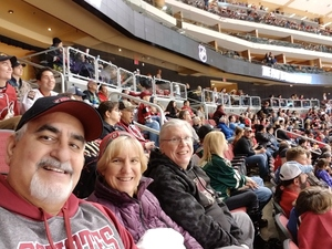 Michael attended Arizona Coyotes vs. Dallas Stars - NHL on Feb 1st 2018 via VetTix