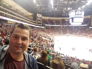 William attended Arizona Coyotes vs. Dallas Stars - NHL on Feb 1st 2018 via VetTix