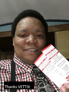 Mario attended Beethoven and Brahms - Presented by the Columbia Orchestra on Jan 27th 2018 via VetTix