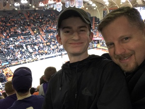 Josh attended Oregon State University Beavers vs. Washington - NCAA Men's Basketball on Feb 10th 2018 via VetTix