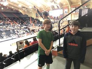 Carlene attended Oregon State University Beavers vs. Washington - NCAA Men's Basketball on Feb 10th 2018 via VetTix