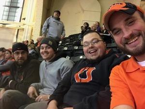 Benjamin attended Oregon State University Beavers vs. Washington - NCAA Men's Basketball on Feb 10th 2018 via VetTix