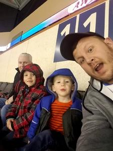 Zachary attended Kansas City Mavericks vs. Cincinnati Cyclones - ECHL on Feb 2nd 2018 via VetTix