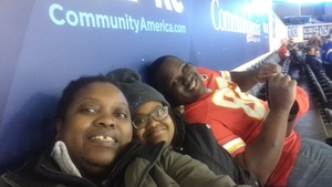 Yinka attended Kansas City Mavericks vs. Cincinnati Cyclones - ECHL on Feb 2nd 2018 via VetTix