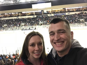 Gabe attended Kansas City Mavericks vs. Allen Americans on Feb 23rd 2018 via VetTix