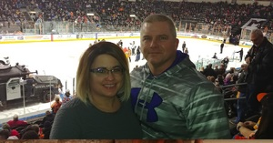 Christopher attended Kansas City Mavericks vs. Allen Americans on Feb 23rd 2018 via VetTix