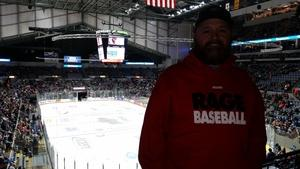 Marcus attended Fort Wayne Komets vs. Rapid City Rush - ECHL on Feb 2nd 2018 via VetTix