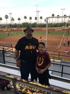 John attended Honor Row - Arizona State Lady Devils vs. Minnesota - NCAA Women's Softball on Mar 9th 2018 via VetTix