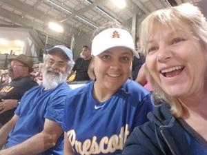 Jamie attended Honor Row - Arizona State Lady Devils vs. Minnesota - NCAA Women's Softball on Mar 9th 2018 via VetTix