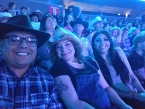 Cassandra attended George Strait - Live in Vegas - Friday Night on Feb 2nd 2018 via VetTix