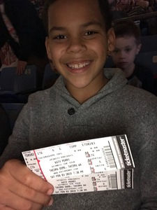 Krystyl attended Katy Perry: Witness the Tour on Feb 3rd 2018 via VetTix