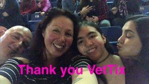 Donald attended Katy Perry: Witness the Tour on Feb 3rd 2018 via VetTix
